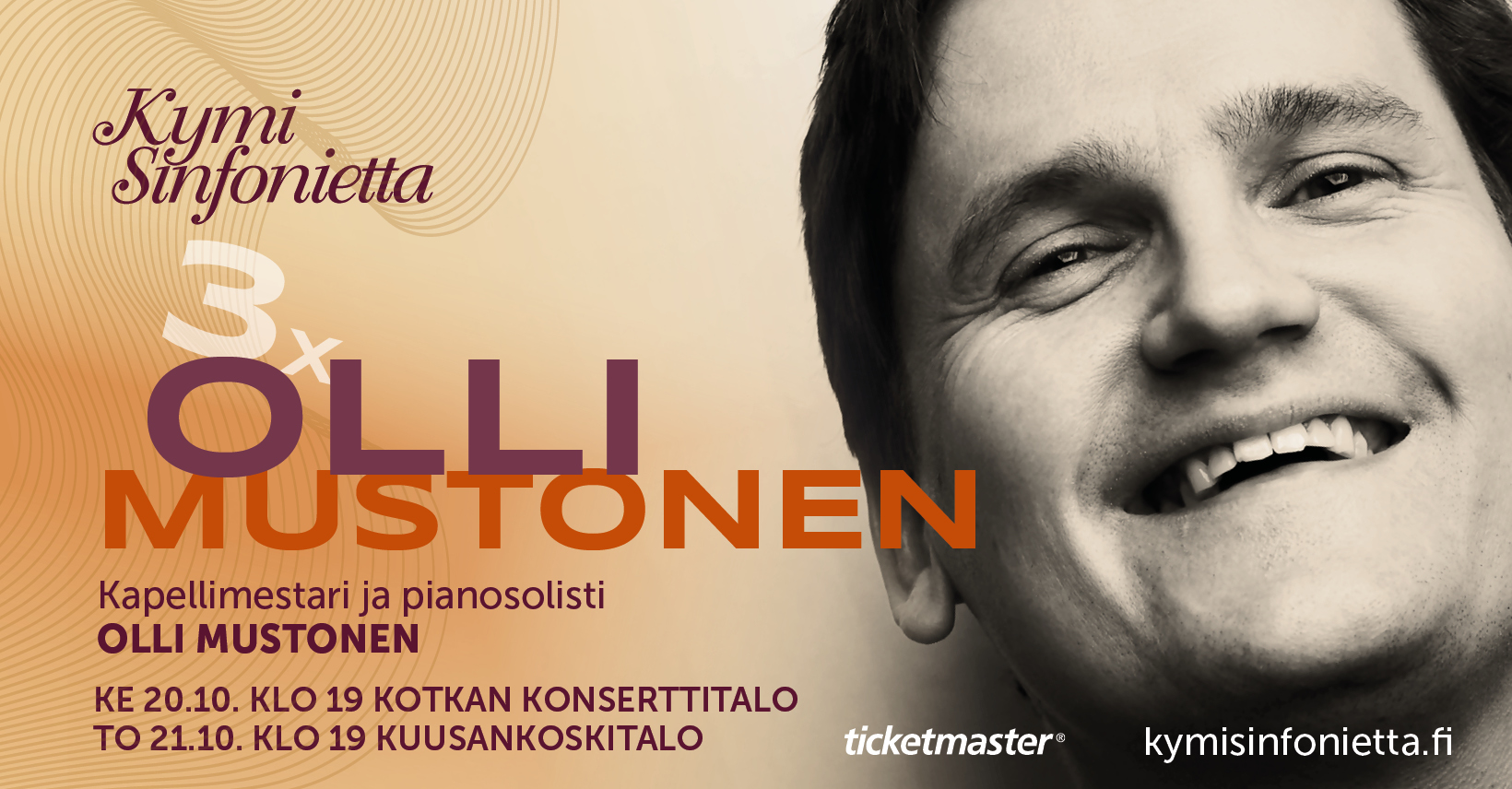 Kymi Sinfonietta: 3X Olli Mustonen