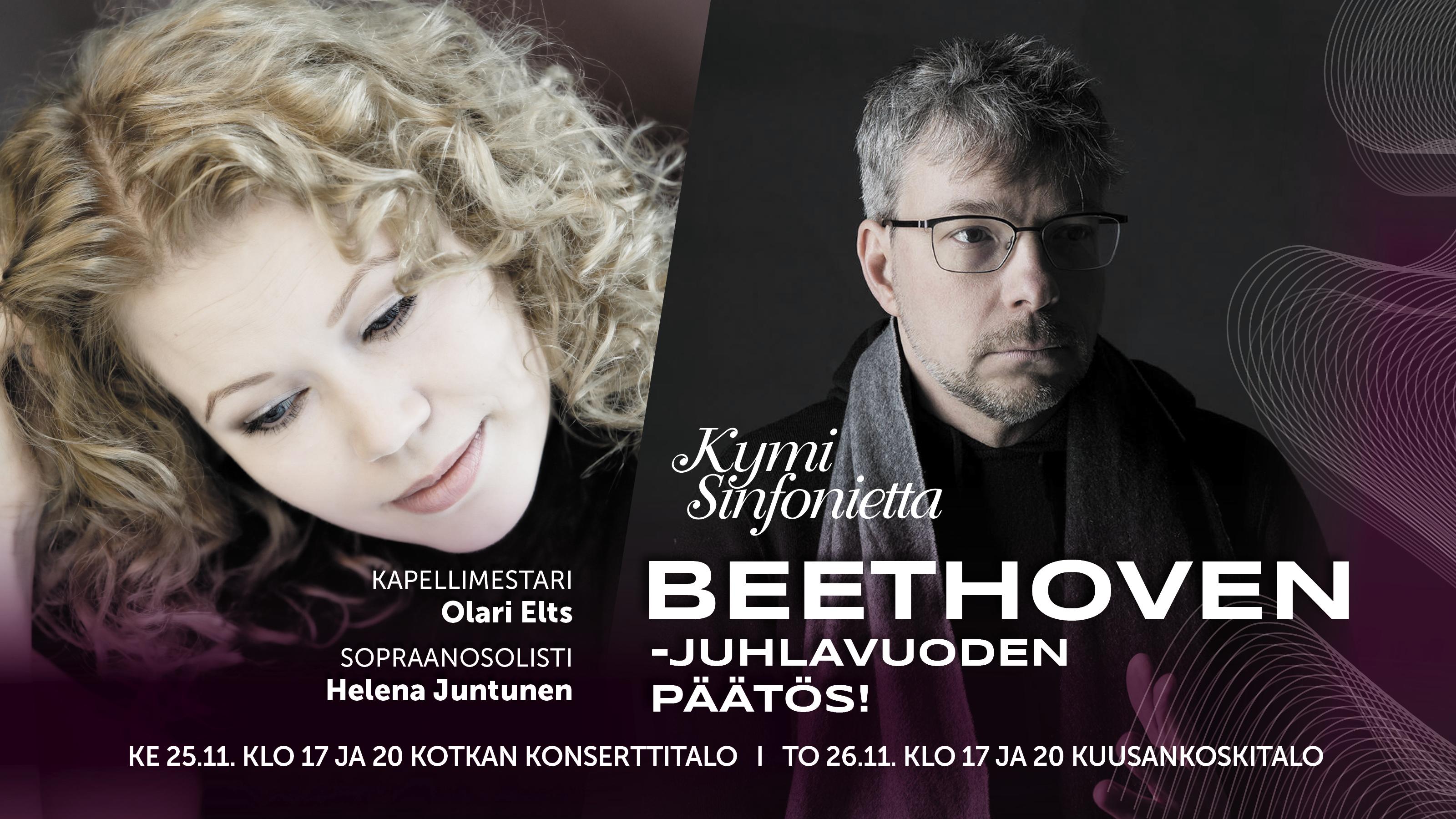 Kymi Sinfonietta: Beethoven-juhlavuoden päätös!